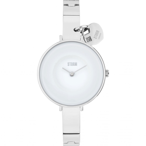Storm Violina Stainless Steel White Ladies Watch