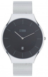 Storm Reese XL Stainless Steel Black Men's Watch