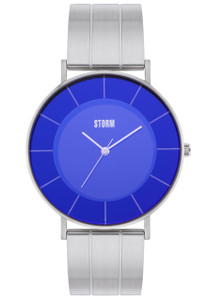 Storm Moreno Stainless Steel Lazer Blue Women's Watch
