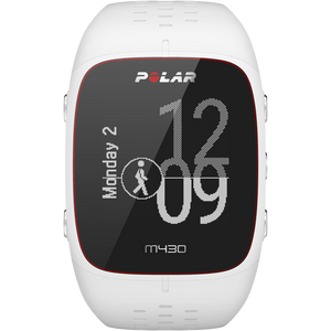 Polar M430 GPS Running Watch White 90064407