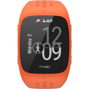 Polar M430 GPS Running Watch Orange 90064410