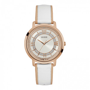 Guess Montauk Stainless Steel Ladies Watch with Rose Gold Tone
