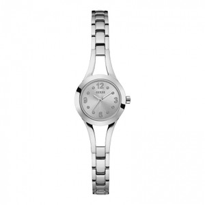 Guess Evie Stainless Steel Ladies Watch with Silver Tone