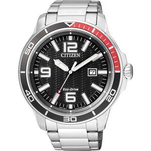 Citizen Eco-Drive Men's Black Dial Watch AW1520-51E