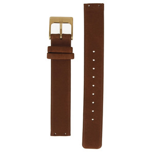 Skagen Replacement Brown Leather Strap 14mm For SKW2138 With Free Screws