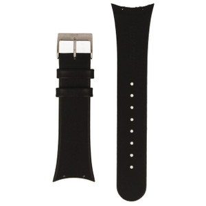 Skagen Replacement Black Leather Strap 24mm For 452LSLB With Free Screws