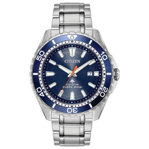 Citizen Eco-Drive Promaster Stainless Steel Blue Dial Diver's Watch BN0191-55L