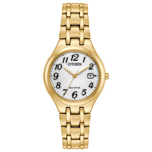 Citizen Eco-Drive Ladies Gold Watch EW2482-53A