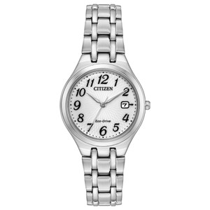 Citizen Eco-Drive Ladies Silver Watch EW2480-59A