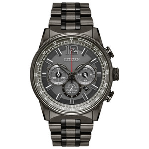 Citizen Eco-Drive Men's Nighthawk Chronograph Watch CA4377-53H
