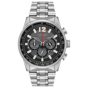 Citizen Eco-Drive Men's Nighthawk Chronograph Watch CA4370-52E