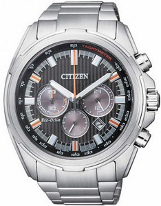 Citizen Eco-Drive Men's Multi-Dial Chronograph Stainless Steel Watch CA4220-55E