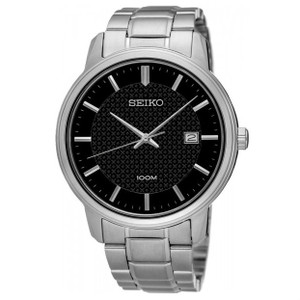 Seiko Men's Neo Classic Stainless Steel Watch SUR195P1