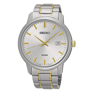 Seiko Men's Date Stainless Steel Watch SUR197P1