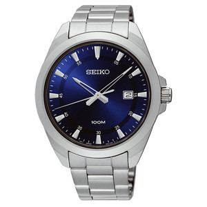 Seiko Men's Stainless Steel Watch SUR207P1