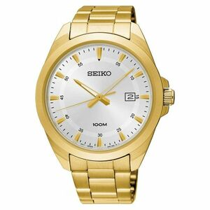 Seiko Men's Classic Stainless Steel Watch SUR212P1