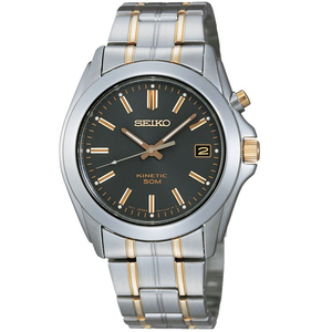 Seiko Men's Kinetic Two-tone Stainless Steel Watch SKA271P1