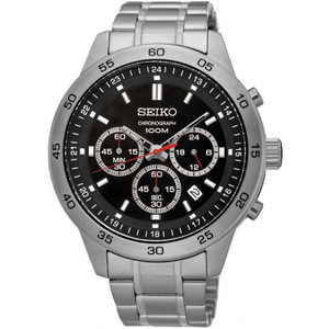Seiko Men's Neo Sports Chronograph Stainless Steel Watch SKS519P1