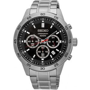 Seiko Men's Neo Sports Chronograph Stainless Steel Watch SKS519P1