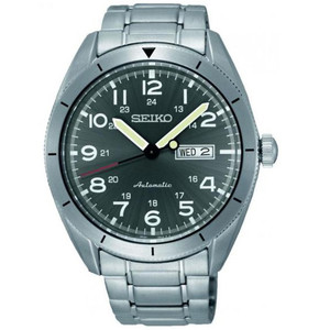 Seiko Men's Automatic Titanium Stainless Steel Watch SRP709K1