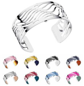 Les Georgettes Ladies Bracelet Silver Medium Size Wave