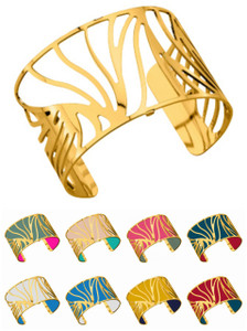 Les Georgettes Ladies Bracelet Gold Large Size Perroquets