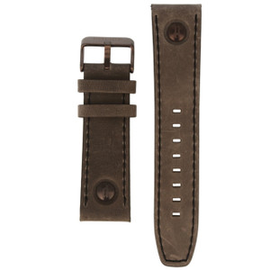 Police Genuine Replacement Watch Strap Grey Leather For 14799JSBZ/61