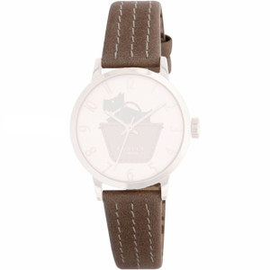 Radley Replacement Watch Strap Brown Leather 15mm For RY2346