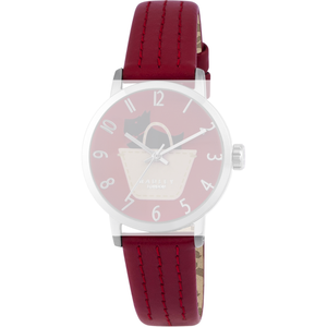 Radley Replacement Watch Strap Red Leather 15mm For RY2287 With Free Pins