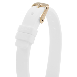Radley Replacement Watch Strap White Rubber 12mm For RY2320 With Free Pins