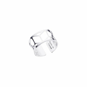 Les Georgettes Ladies Ring Silver Small Size Resille