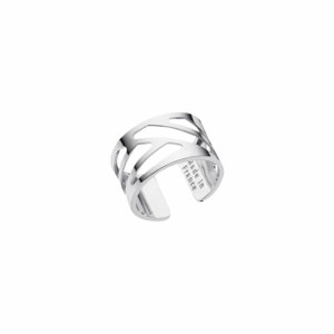 Les Georgettes Ladies Ring SIlver Medium Size Ruban