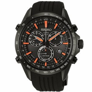 Seiko Astron GPS Solar Powered Men's Chronograph Watch SSE017J1