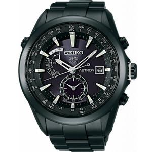 Seiko Astron GPS Solar Powered Men's Dual Time Watch SAST007G