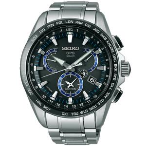 Seiko Astron GPS Solar Powered Men's Dual Time Watch SSE101J1