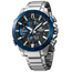 Casio Edifice Bluetooth Race Lap Chronograph Watch Tough Solar Blue EQB-800DB-1AER