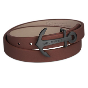 Paul Hewitt North Bound Leather Strap Bracelet PH-WB-B-1M