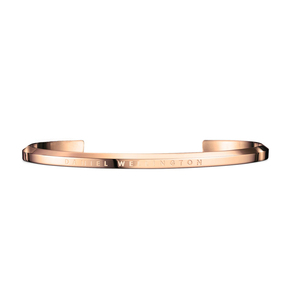 Daniel Wellington Rose Gold Plated Small Jewellery Cuff DW00400003