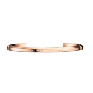 Daniel Wellington Rose Gold Plated Small Jewellery Cuff DW00400003