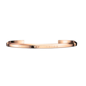 Daniel Wellington Rose Gold Plated Large Jewellery Cuff DW00400001