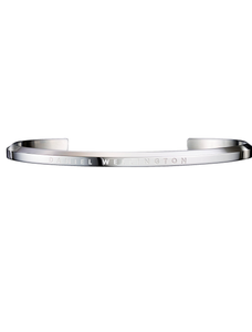 Daniel Wellington Silver Small Jewellery Cuff DW00400004