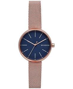 Skagen Signatur Ladies Watch with Blue Dial SKW2593