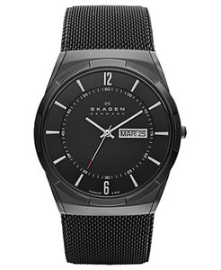Skagen Melbye Ladies Watch with Black Dial SKW6006