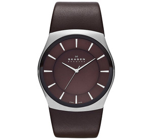 Skagen Havene Men's Watch with Brown Dial SKW6016