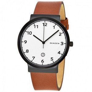 Skagen Ancher Men's Watch with White Dial SKW6297