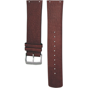 Skagen Watch Replacement Brown Leather Strap 23mm For SKW6082 With Free Connecting Pins