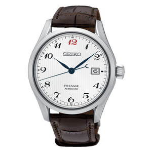 Seiko Mens Presage Automatic Dress Date Watch SPB067J1