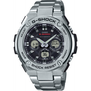 G-Shock Steel Solar Radio Controlled Stainless-Steel Bracelet Watch GST-W310D-1AER