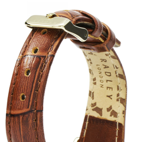 Radley Replacement Watch Strap Brown Leather 17mm For RY2268 With Free Pins