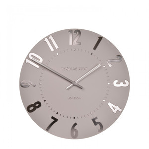 Mulberry Wall Blush Pink Small wall clock